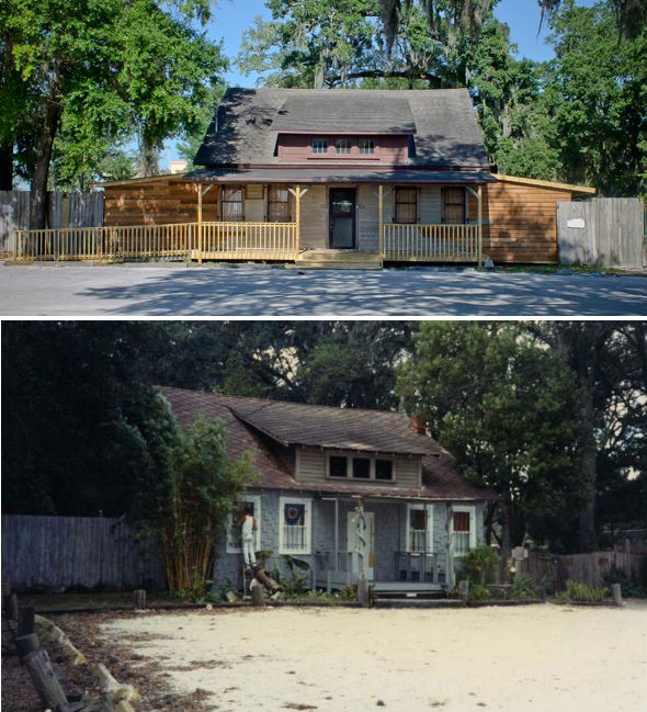 Bottom: Construction photo