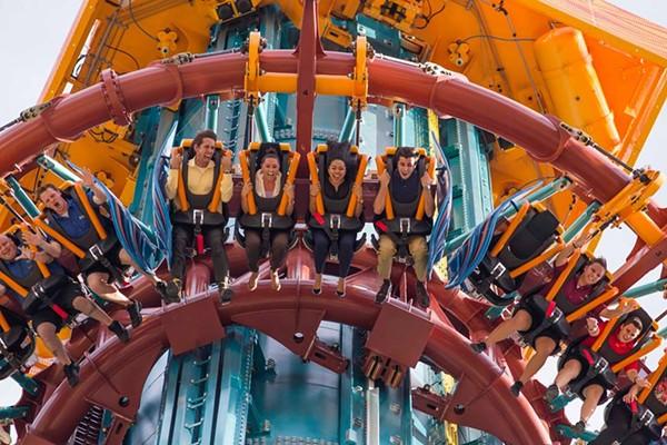 Busch Gardens Tamps Newest Ride Falcon's Furry (Image via Busch Gardens Facebook)