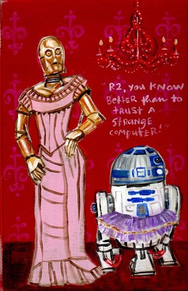 'C3PO' by Dawn Schreiner