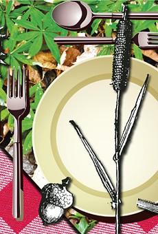 Central Florida forager Deane Jordan invites you to a backyard buffet