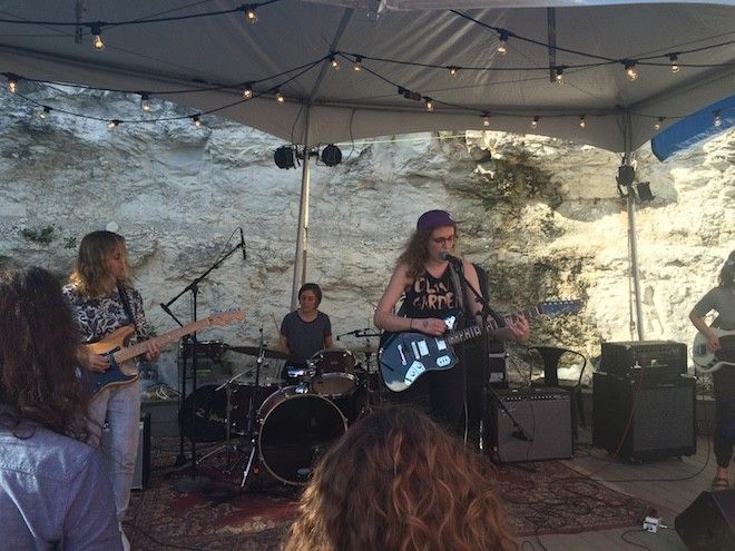 Chastity Belt at SXSW 2015 - PHOTO BY NICK MCGREGOR