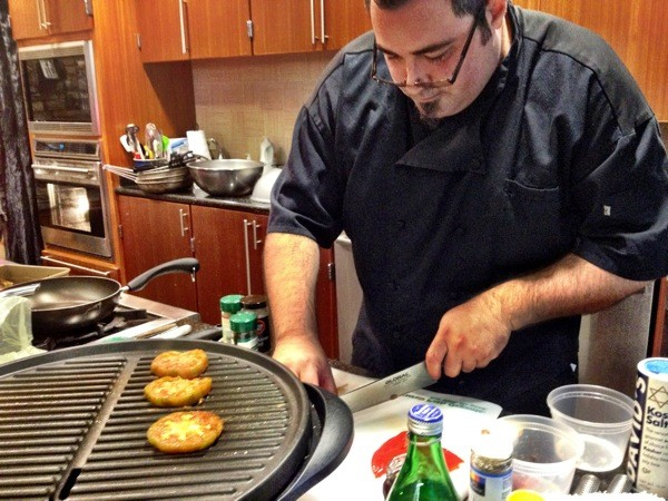Chef Bryce Balluff of Fork in the Road