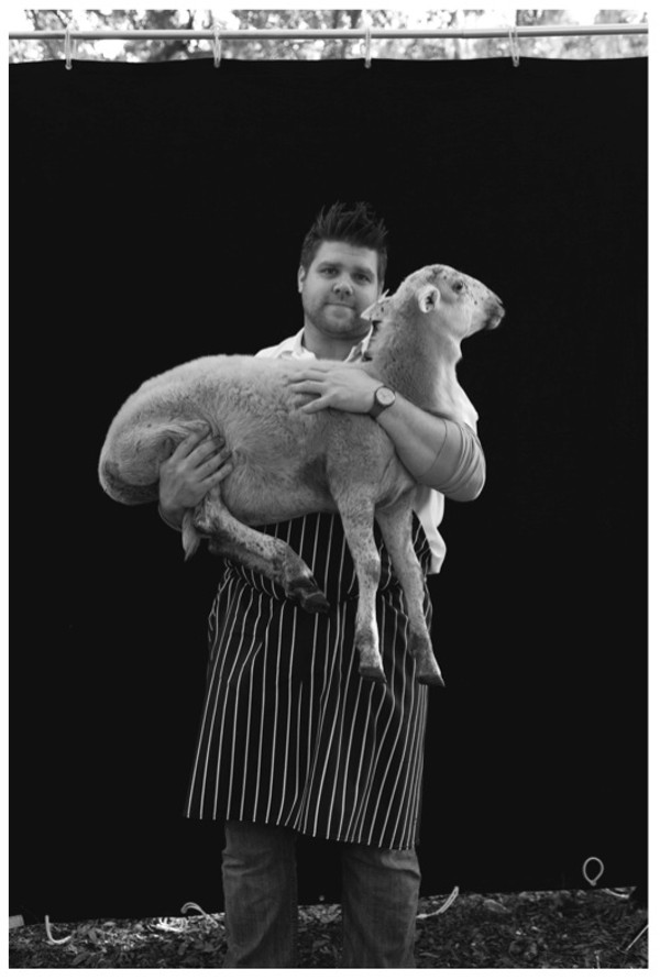 Chef Tony Adams will make something delicious with this adorable baby animal, and you will love it. (photo by Brian Carlson)