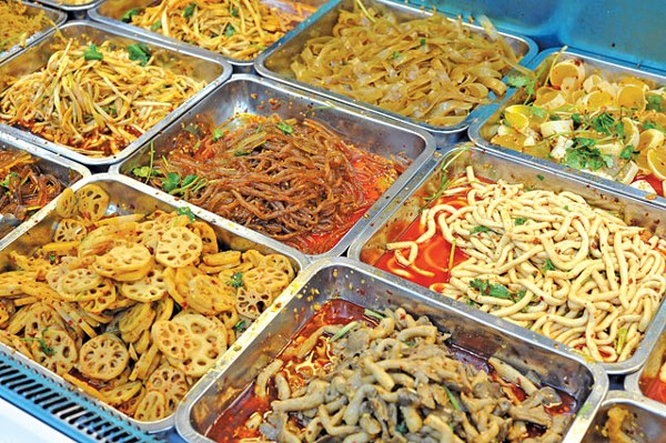 Chinese buffet! - PHOTO BY SEVENKE