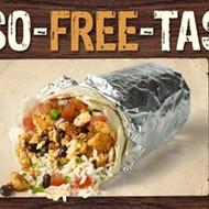 Chipotle offers free entree of your choice