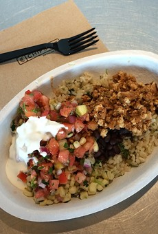 Chipotle's new protein: braised tofu sofritas