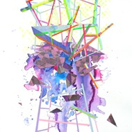 Nikki Painter deconstructs reality Friday night at Twelve21 Gallery