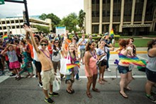 PHOTO BY ROB BARTLETT - COME OUT WITH PRIDE