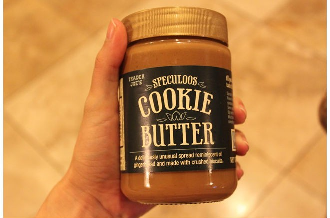 Cookie butter: It's like a spreadable gingersnap.