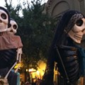 Creepy puppets are everywhere in October, from giant scary skeletons to raunchy reality-TV chickens