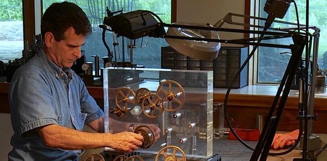 Dean Kamen at work