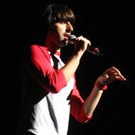 Demetri Martin sketches out some comedy at Hard Rock