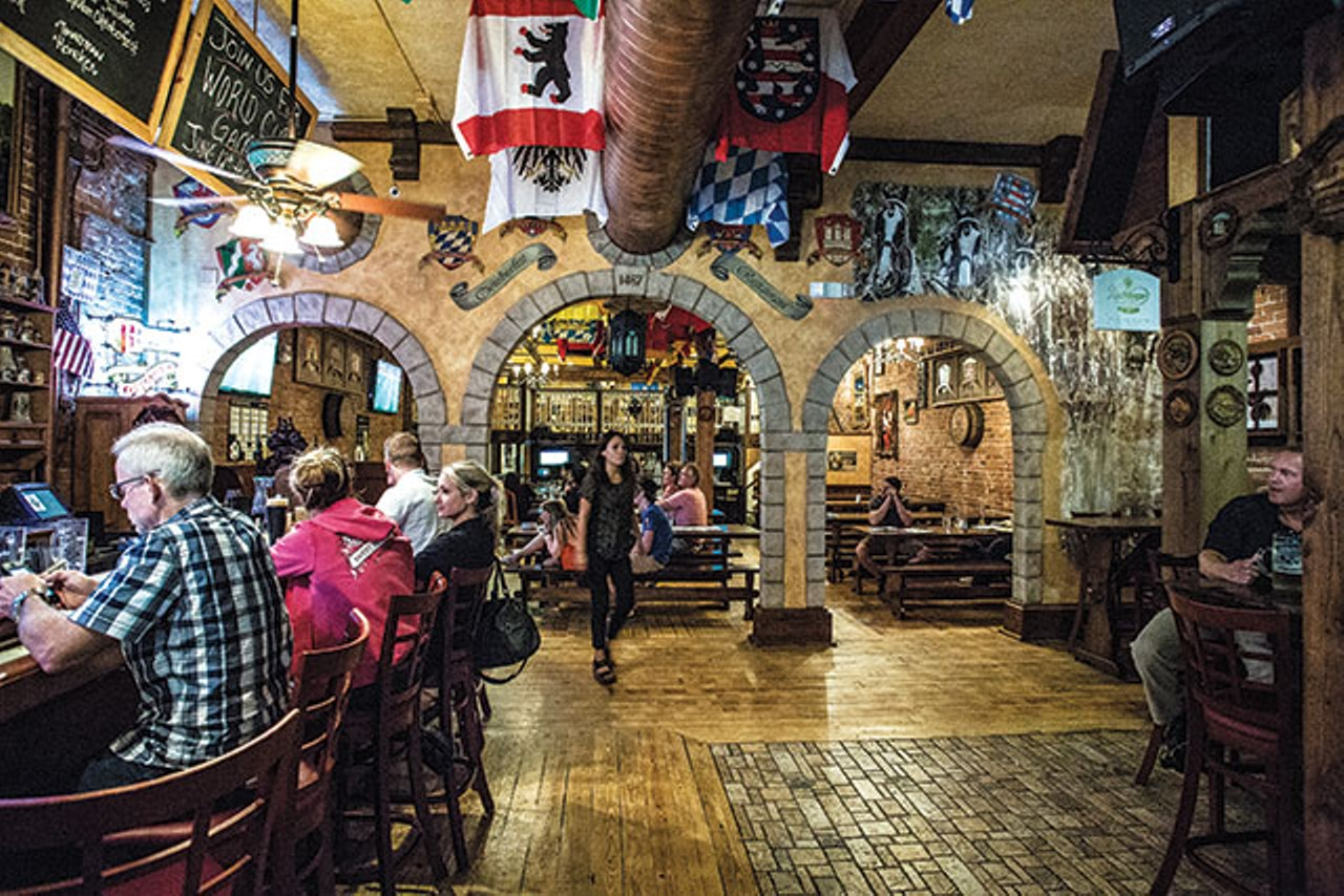 Orlando Haus dine like a prussian king at schumann s jager haus restaurant