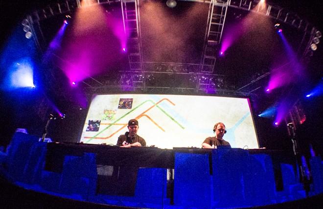 DJ Shadow & Cut Chemist deconstruct Afrika Bambaataa (photo by Christopher Garcia)