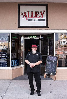 Doc Williamson runs a regular blues jam at the Alley – the last venue in Sanford dedicated to blues music