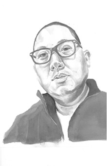 Eddie Huang (illustration by Christopher Kretzer)
