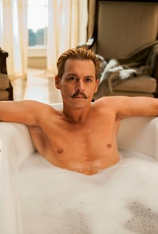 Even diehard Depp fans may find it hard to fall in love with 'Mortdecai'