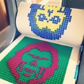 Everything Is Awesome when you're part of a Lego Printmaking Workshop team