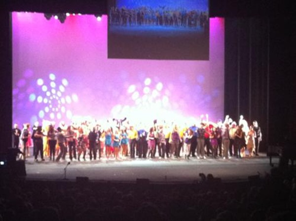 Final bows for the 7th Annual Red Chair Affair (8/27/11)