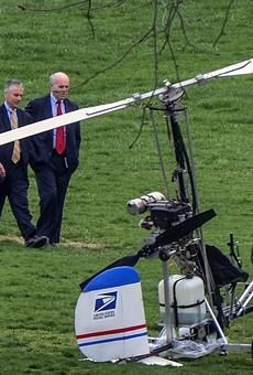 Florida man makes it to the White House