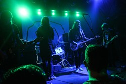 Formulas and Frequencies: Photos from Whirr at Backbooth