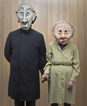 "Wonderheads in ""Grim and Fischer"" at the 2015 Orlando Fringe - PHOTO VIA WONDERHEADS.COM"
