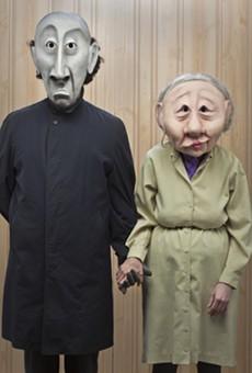 """Wonderheads in """"Grim and Fischer"""" at the 2015 Orlando Fringe"""