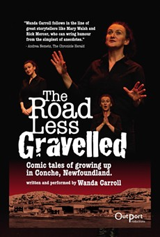 """Outport Productions presents """"The Road Less Gravelled"""" at Orlando Fringe."""