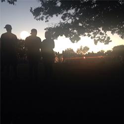 Fun Fun Fun Fest at sunset