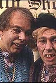 Gentlemen are blondes in Brit TV comedy