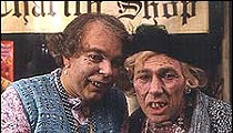 Gentlemen <I>are</I> blondes in Brit TV comedy