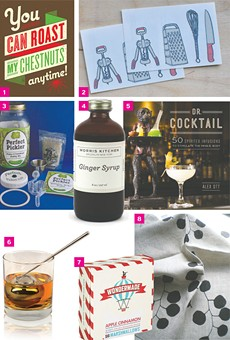 Gifts for foodies and cocktail hounds