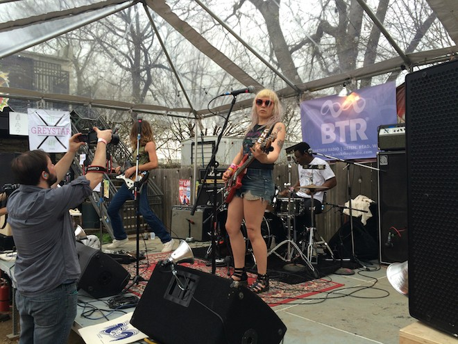 Guantanamo Baywatch at SXSW 2015 - PHOTO BY NICK MCGREGOR