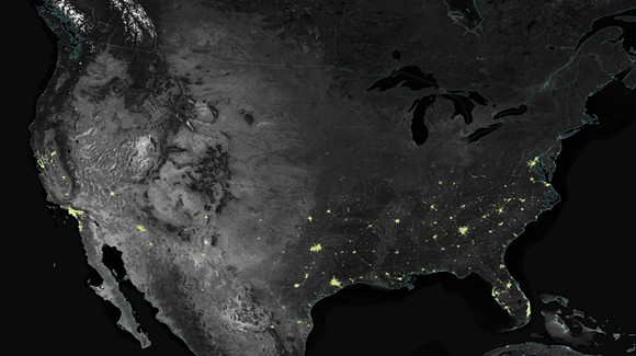 NASA'S EARTH OBSERVATORY/JESSE ALLEN