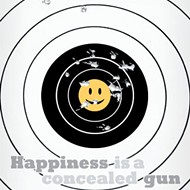 HAPPINESS IS A CONCEALED GUN