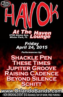 ORLANDOBANDS - Havok at the Haven