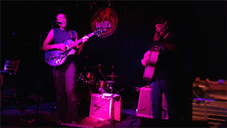 Henry Toland & Forest Rodgers at Will's Pub