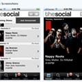 Hey, the Social's got an iPhone app