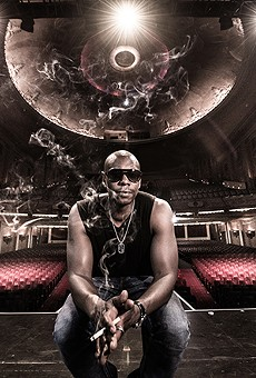 If you're seeing Dave Chappelle at the Bob Carr either tonight or tomorrow, we're jealous