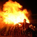 Traditional British bonfire night happening this weekend