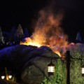 Seven Dwarfs Mine Train catches fire; fireworks blamed