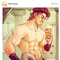 Disney Princes and Princesses: But first let me take a selfie