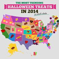 What's Florida's favorite Halloween treat?