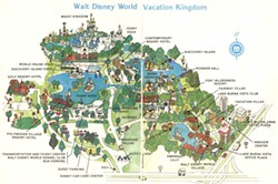 MAP: 1971 Disney World vs. present-day Disney | Blogs Disney World Hotel Map on