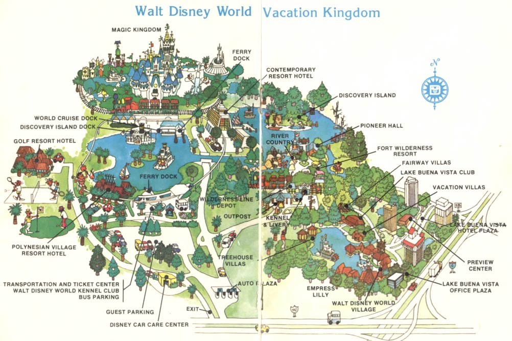 Disney Hotels Florida Map | europeancytokinesociety