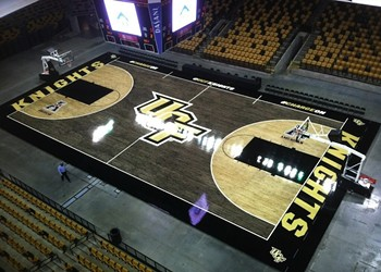 In honor of UCF's new basketball court: 15 other teams with non-traditional field/court colors