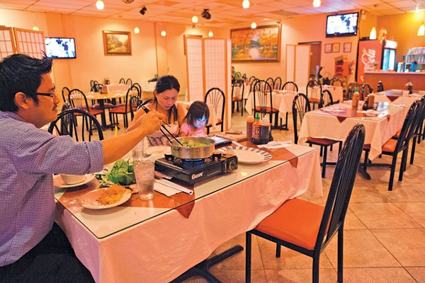 It took four years to change the signage, but Ha Long Bistro now inhabits the old Vinh's Vietnamese - ALDRIN CAPULONG;