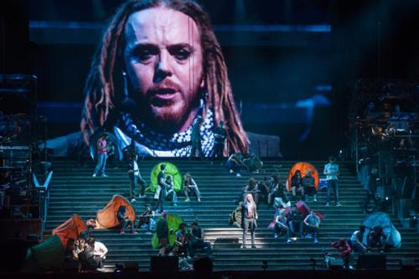 Jesus Christ Superstar is coming to Orlando's Amway Center June 14 (photo credit Duncan Barnes)