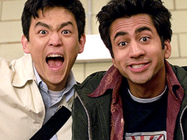 Kal Penn, aka Kumar, is the guy on the right