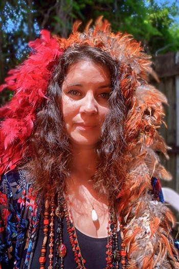 Kaleigh Baker as Janis Joplin - PHOTO VIA ORLANDO FRINGE